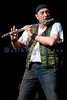 Ian Anderson of Jethro Tull performing vocals and playing his ever present flute at Seattle's Paramount Theater in October, 2007.