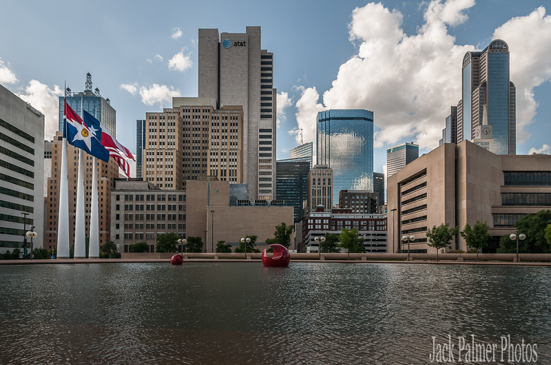 Dallas, TX. ( Area) Stock Images