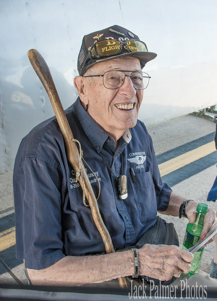 Charles Chauncey  WWII Pilot of the bomber named 'Going Jesse'..or Go'n Jesse?