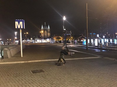 Rocky Donati - Central Station - Amsterdam - Netherlands
