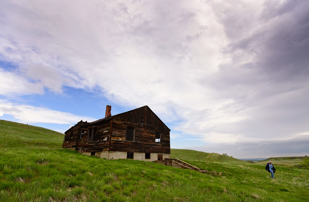 . The Lindsay Ranch homestead is seen at the Rocky Flats National Wildlife Refuge in Jefferson County, Colorado on May 14, 2018. (Photo by Matthew Jonas/Staff Photographer)
