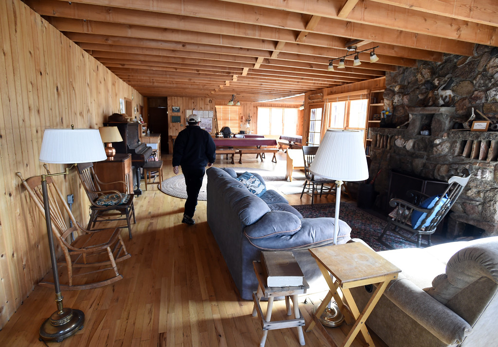 . The living area of the main building. Johann Robbins and associates are purchasing 180 acres of pristine land - and a structure or two - as a place for people to go unwind and connect in these  stressful times. Cliff Grassmick  Staff Photographer  February 9, 2017
