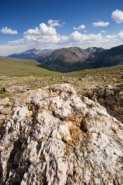 Rocks and alpine tundra