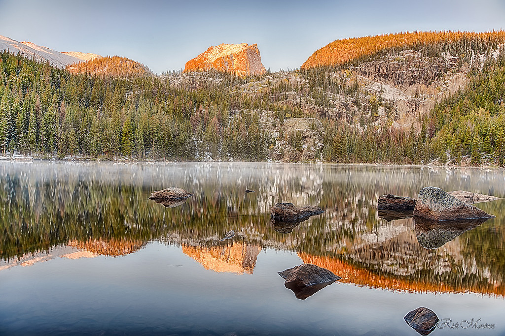 . Rocky Mountain National Park in the Fall by Rick Martinez
