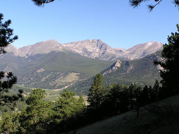 Deer Mountain volkswalk, Rocky Mountain National Park, Aug 11, 2007