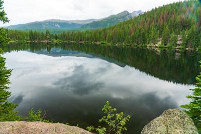 Reflections in Bear Lake