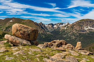 Granite Rocks on the Rockies