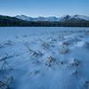 Bierstadt Lake in Winter