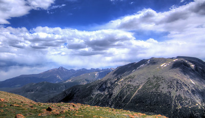 Stomes Peak to Stoem Peak, Rocky Mountain National Park