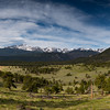 Longs Peak. Highest mountain in the Rocky Mountain National Park. 14,259 ft above sea level.