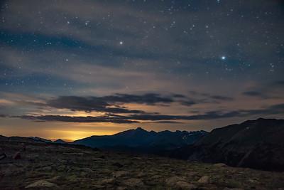 Stars Beginning to Fade