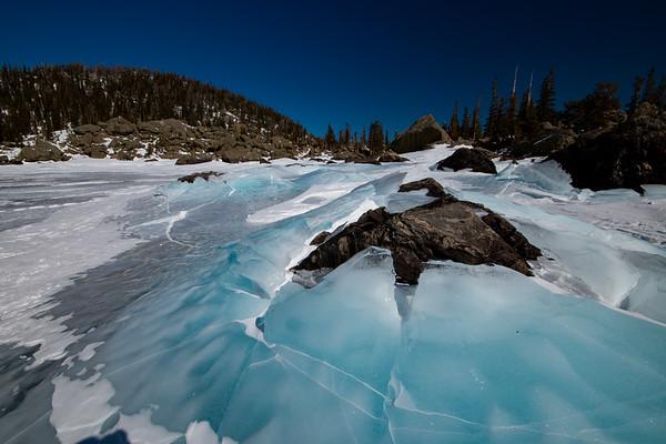 Hiayaha's Blue Ice