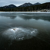 Frozen Lake in Rocky Mountain National Park