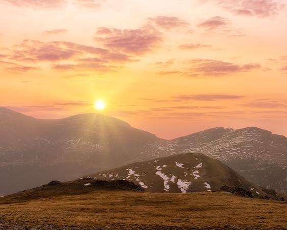 Tundra Sunrise - RMNP