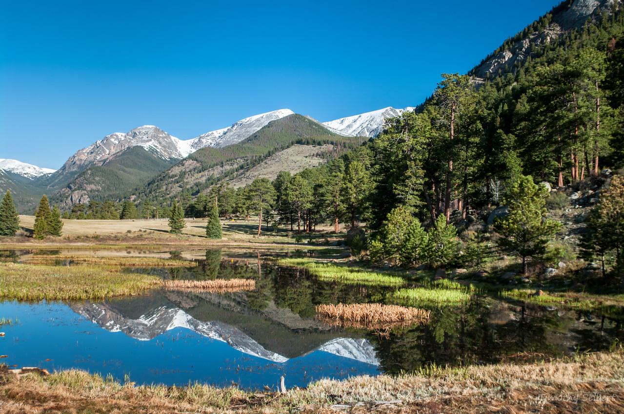 Sheep Lake Reflection