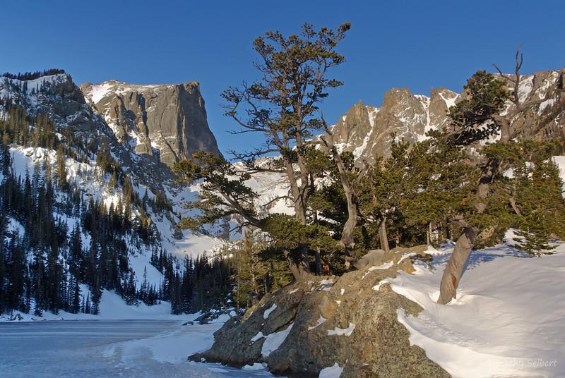 Dream Lake Winter