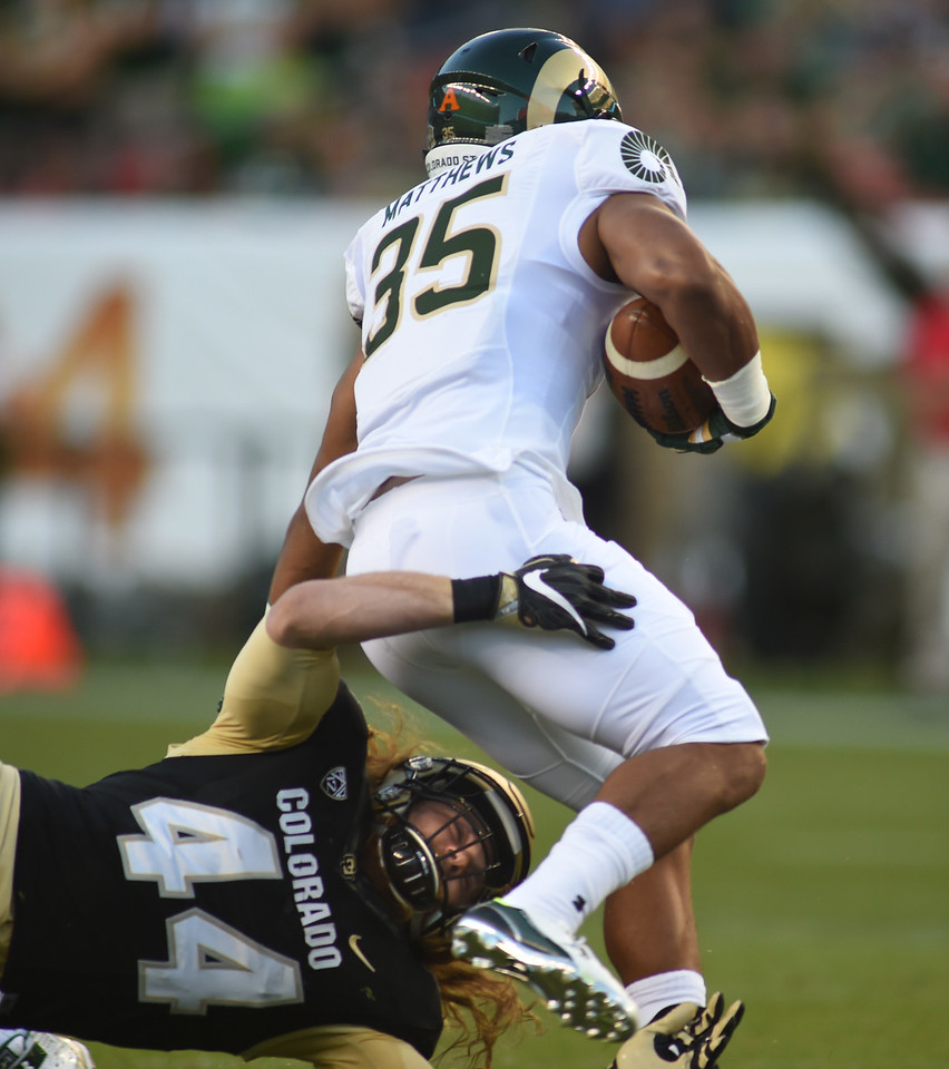 Colorado  Colorado State NCAA Football