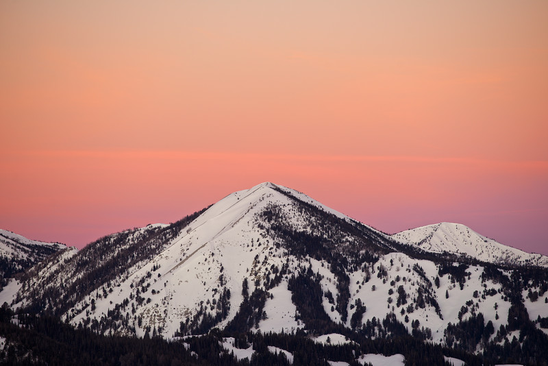 Galena Summit Sunrise, Sawtooth Wilderness, Idaho