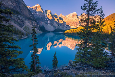 """Don't Breathe"" - Moraine Lake, Alberta"