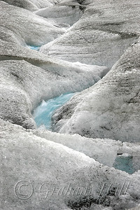 Glacial Meltwater Stream at Columbia Icefields