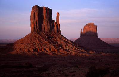 The Mittens, Monument Valley, UT
