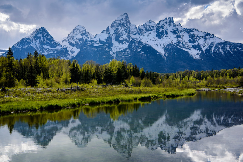 Schwabacher's Landing, Grand Tetons National Park