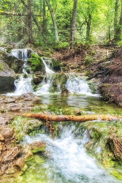 Waterfall in Glenwood canyon
