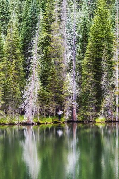 Fern Lake Fisherman 1