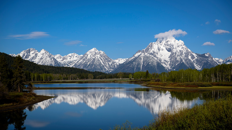 Oxbow Bend, Grand Tetons National Park