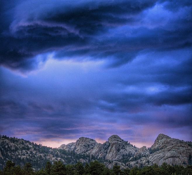 Lumpy Ridge Storm