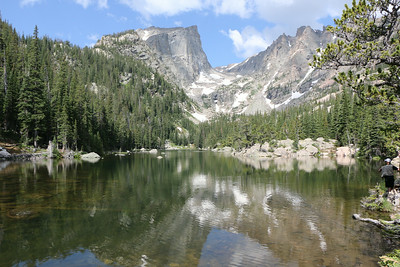 Hike into Nymph, Dream and Emerald Lake 2014