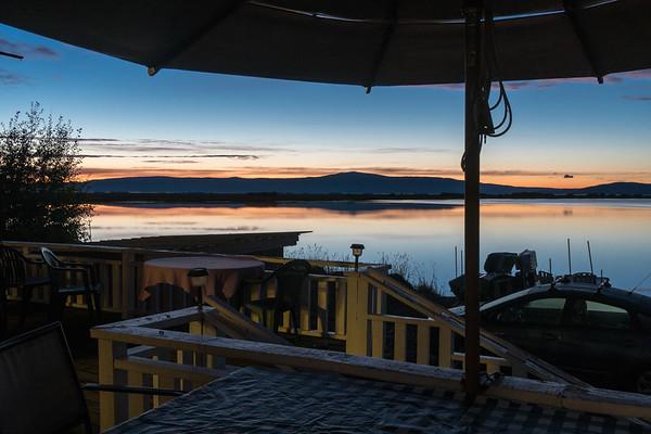 Our Deck Before Dawn
