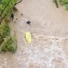 Flash flooding on Verde River @ Clarkdale - 7/18/21