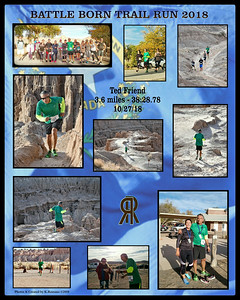Battle Born Trail Run Participants Collages