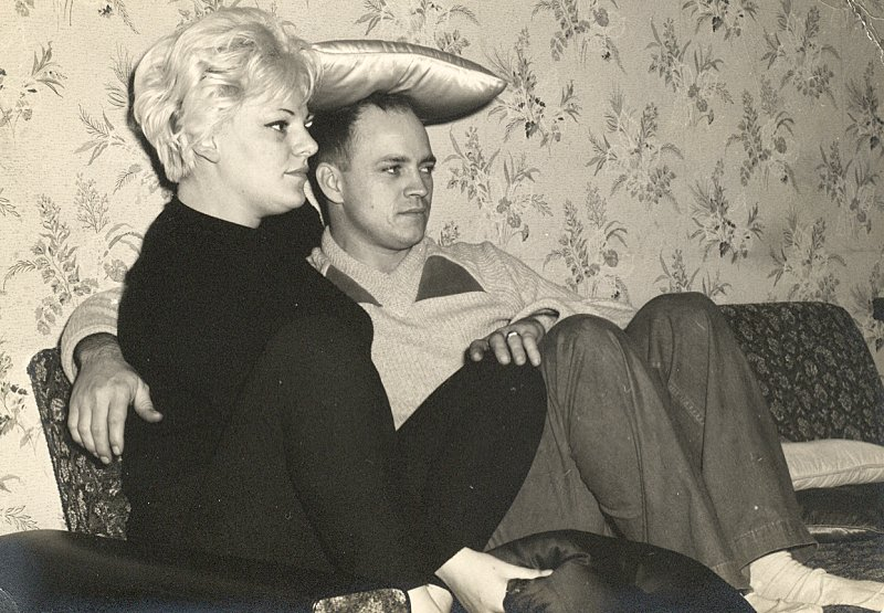 Me and my second Wife, Jackie. I was stationed in London, England when this was taken in 1962.