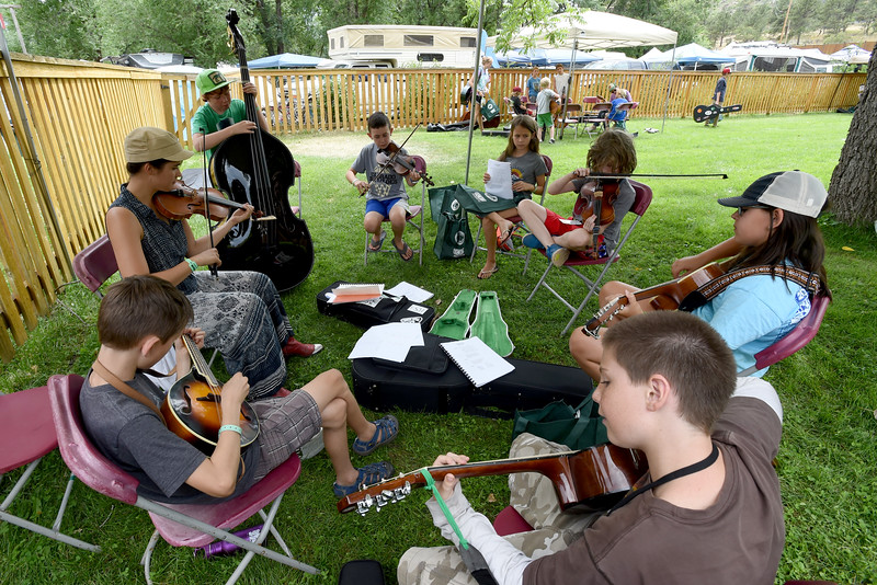 RockyGrass Academy at the Planet Bluegrass Ranch in Lyons.