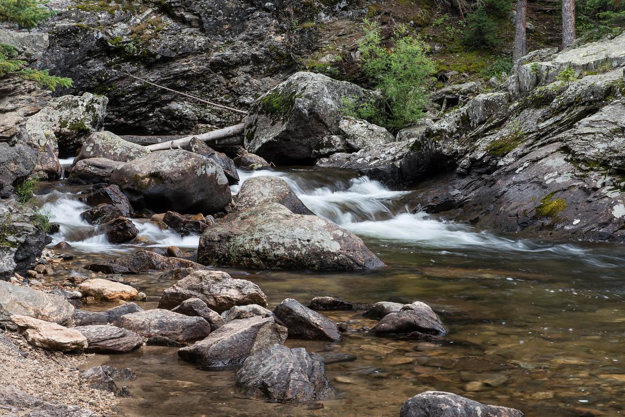 Echo Creek below Adams Falls