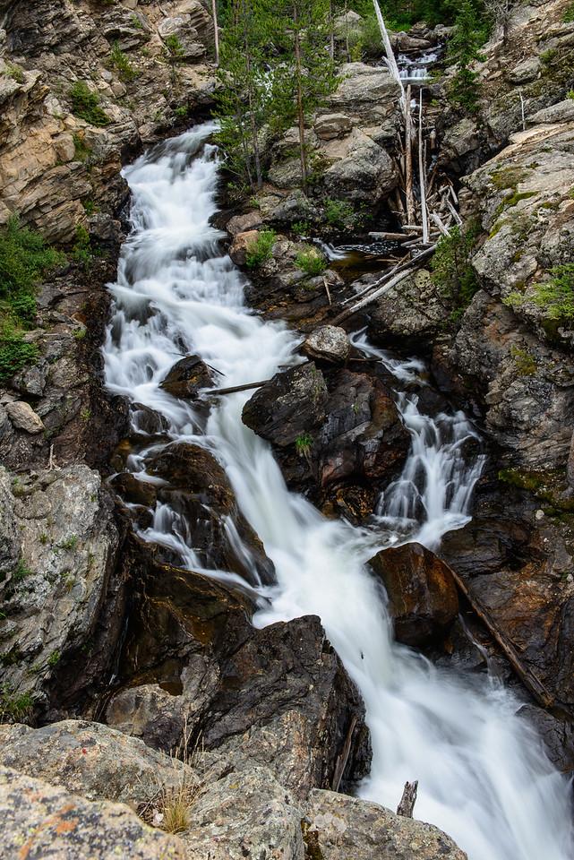 Adams Falls in a dry year.