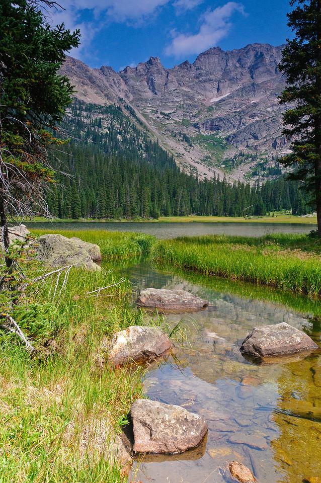 Fourth Lake above Spirit Lake