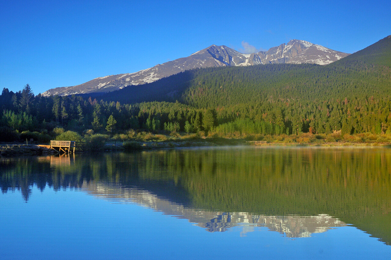 Morning at Lilly Lake