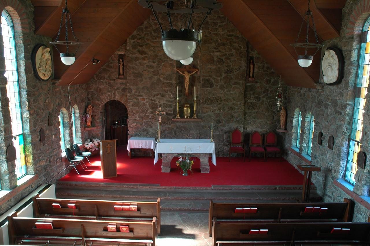Inside Saint Milo's