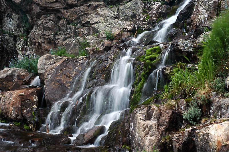 Timberline Falls water patterns.