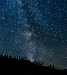 Milky Way Over Pear Lake