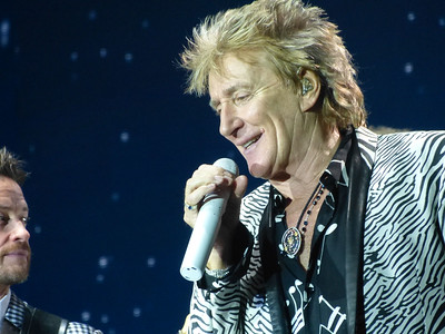 Rod Stewart at Manchester Arena 08/12/16