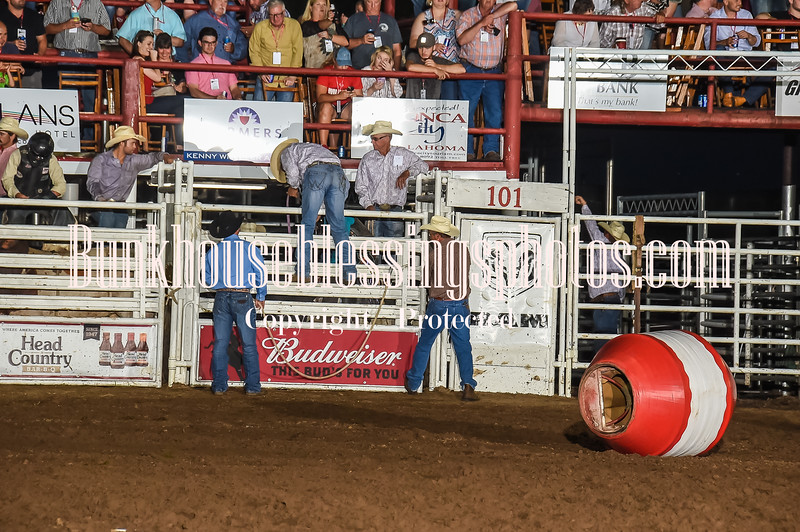 101WildWestPRCA Fri BULLS 1stSection-2