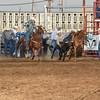 101WildWestPRCA Sat SteerWrestling-30