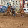 101WildWestPRCA Sat SteerWrestling-17