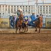101WildWestPRCA Sat SteerWrestling-16
