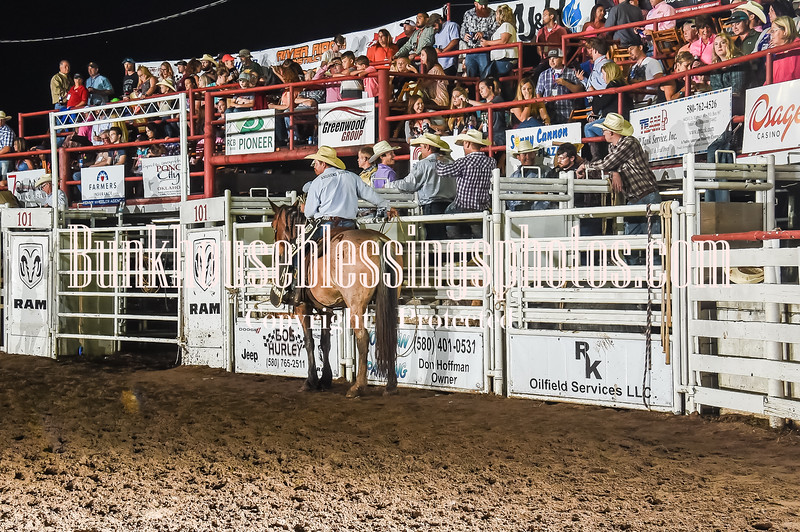 101WildWestPRCA Thur Bulls2ndSection-2