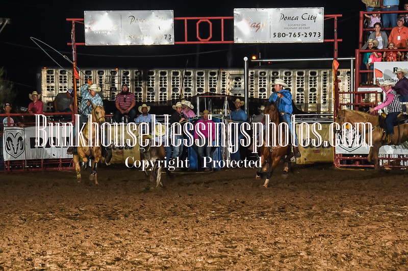 101WildWestPRCA Thur TeamRoping-1